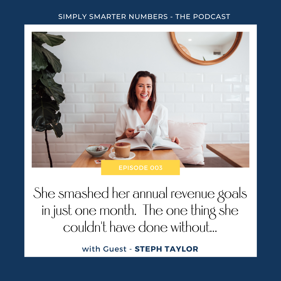 Steph Taylor smashed her annual revenue goals in just one month. The one thing Steph couldn't have done without…