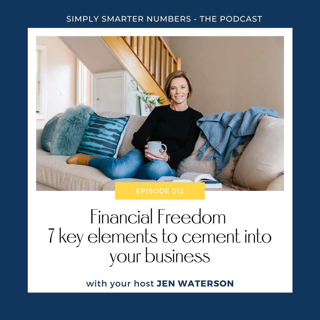 Financial Freedom I 7 key elements to cement into your business