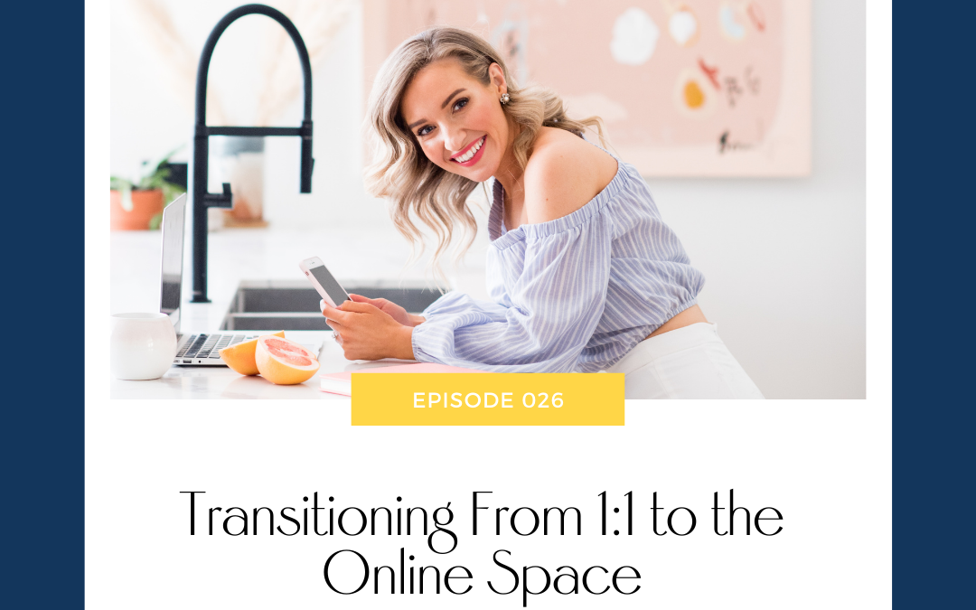 Emily Osmond on Transitioning From 1:1 to the Online Space