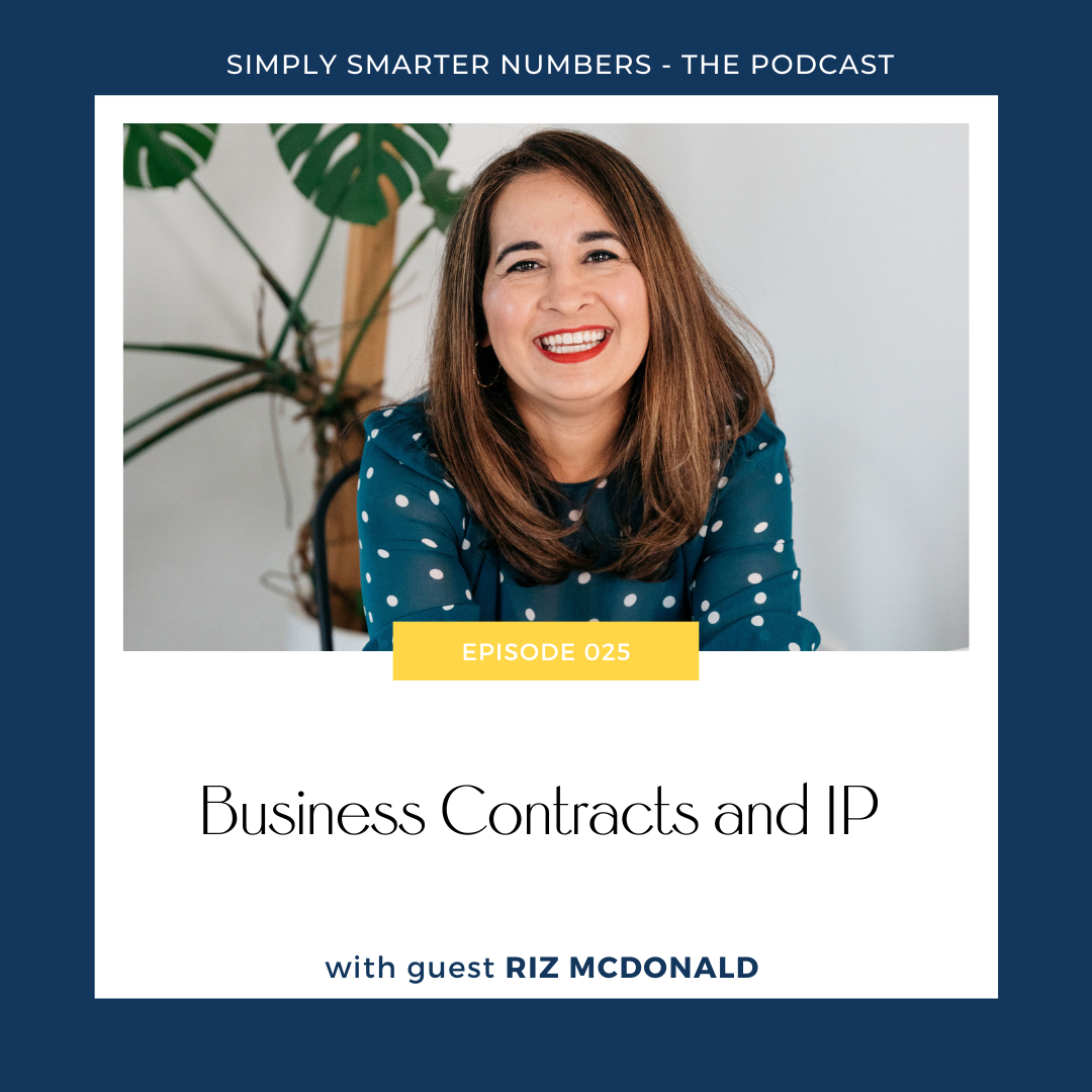Business Contracts and IP with Riz McDonald